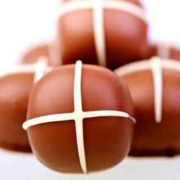 Welcome Easter with Hot Cross Bun Truffles at Bittersweet