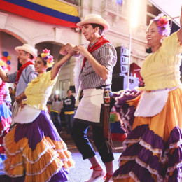 Join the Colombian Street Festival in Fortitude Valley