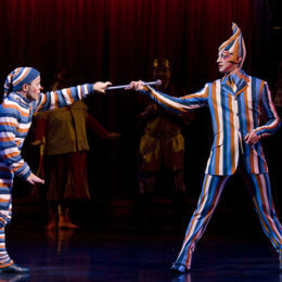 Feast your eyes upon the mind-bending Cirque du Soleil's KOOZA