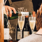Champagne and Cheese Pop-up