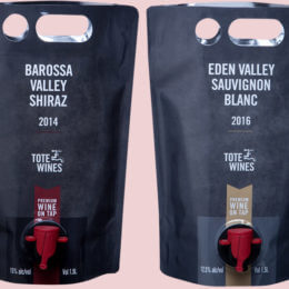 Forget Goon of Fortune – wine in a bag goes classy with Tote Wines