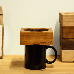 Embrace minimalism and perfect pour over with the Canadiano coffee maker