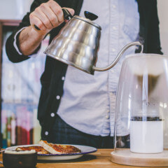 Appreciate craft over convenience with the Manual Coffeemaker