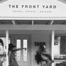 Cuts, coffee and art at The Front Yard