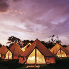 Go glamping in Byron Bay&#8217&#x3B;s luxury pop-up hotel this Christmas